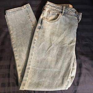 Pacsun lightwash mom jeans